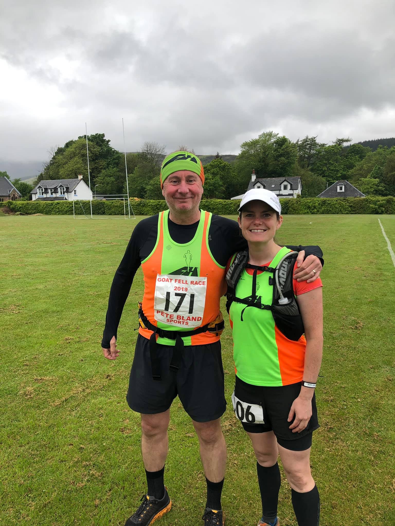 Goatfell Hill Race Report