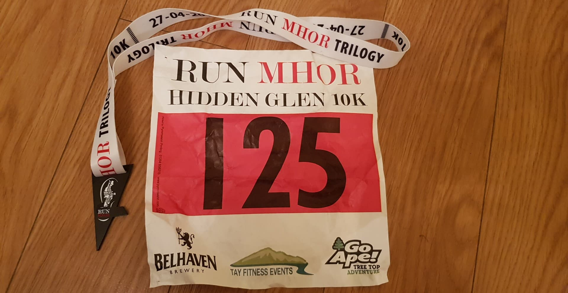 Run Mhor 10k Race Report