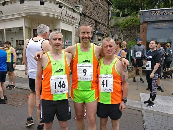 Carnegie race in Dunblane