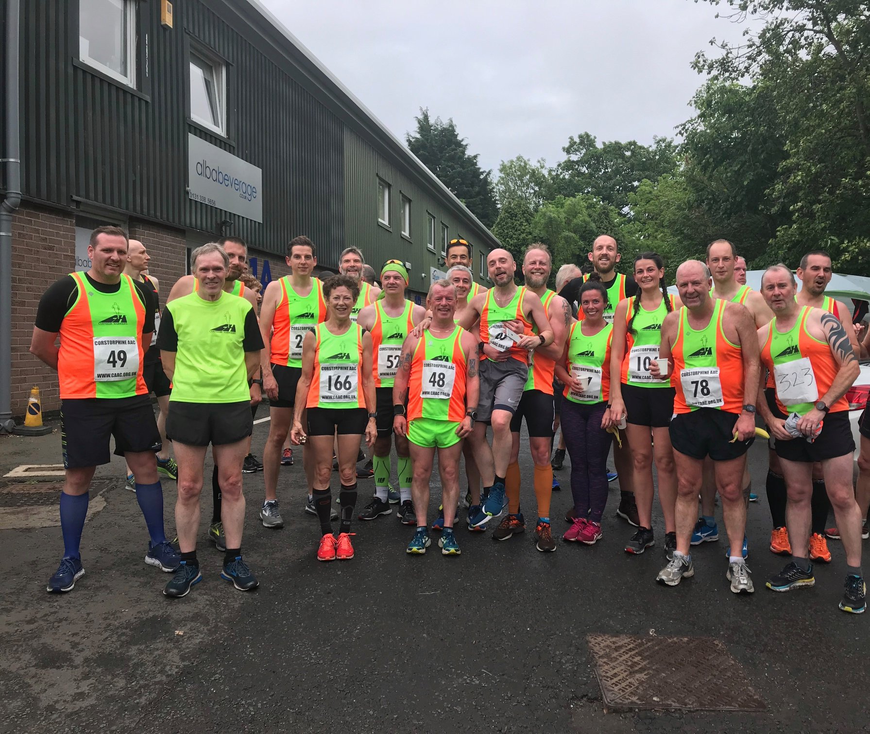 Carnegie Turn up in Big Numbers for CAAC 5 Mile Road Race