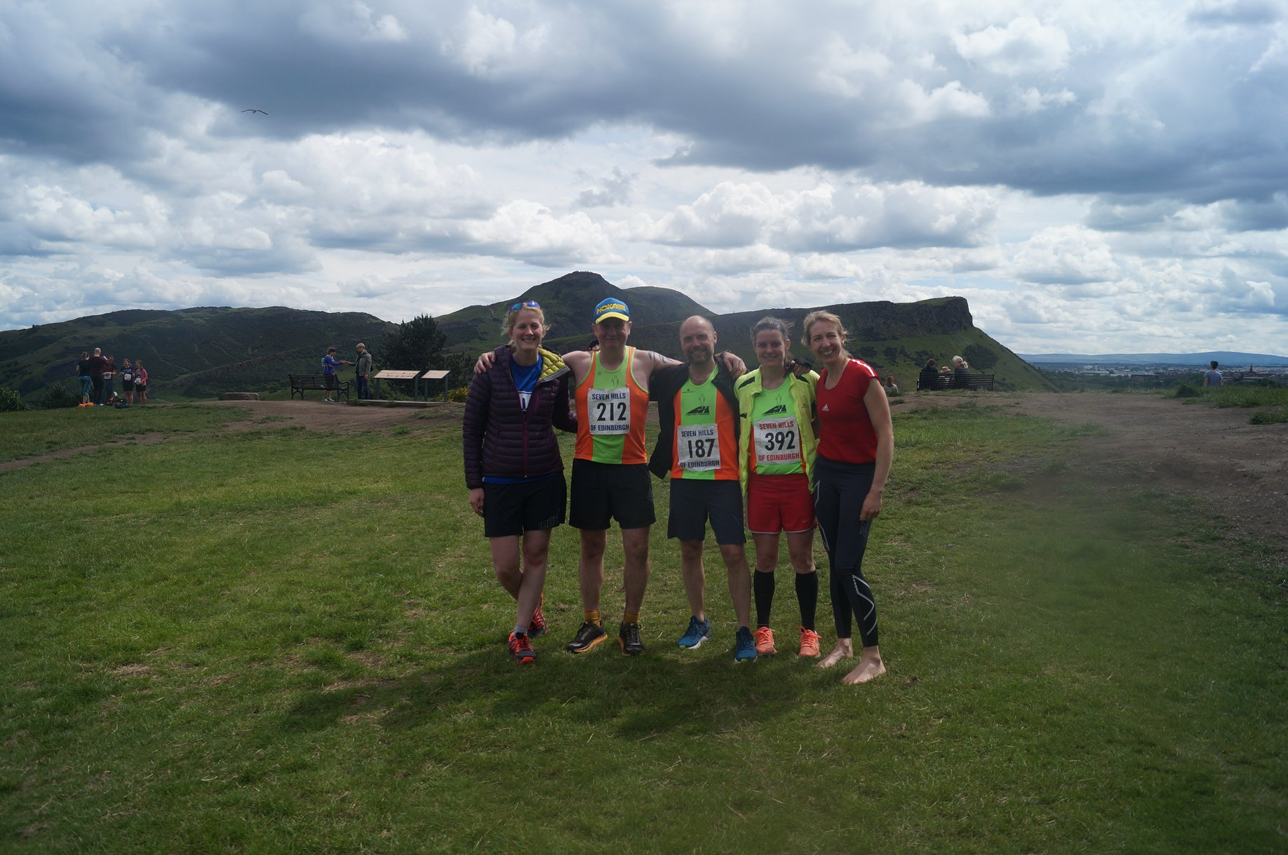 Harriers hit Edinburgh's 7 Hills for Hill GP Event 8