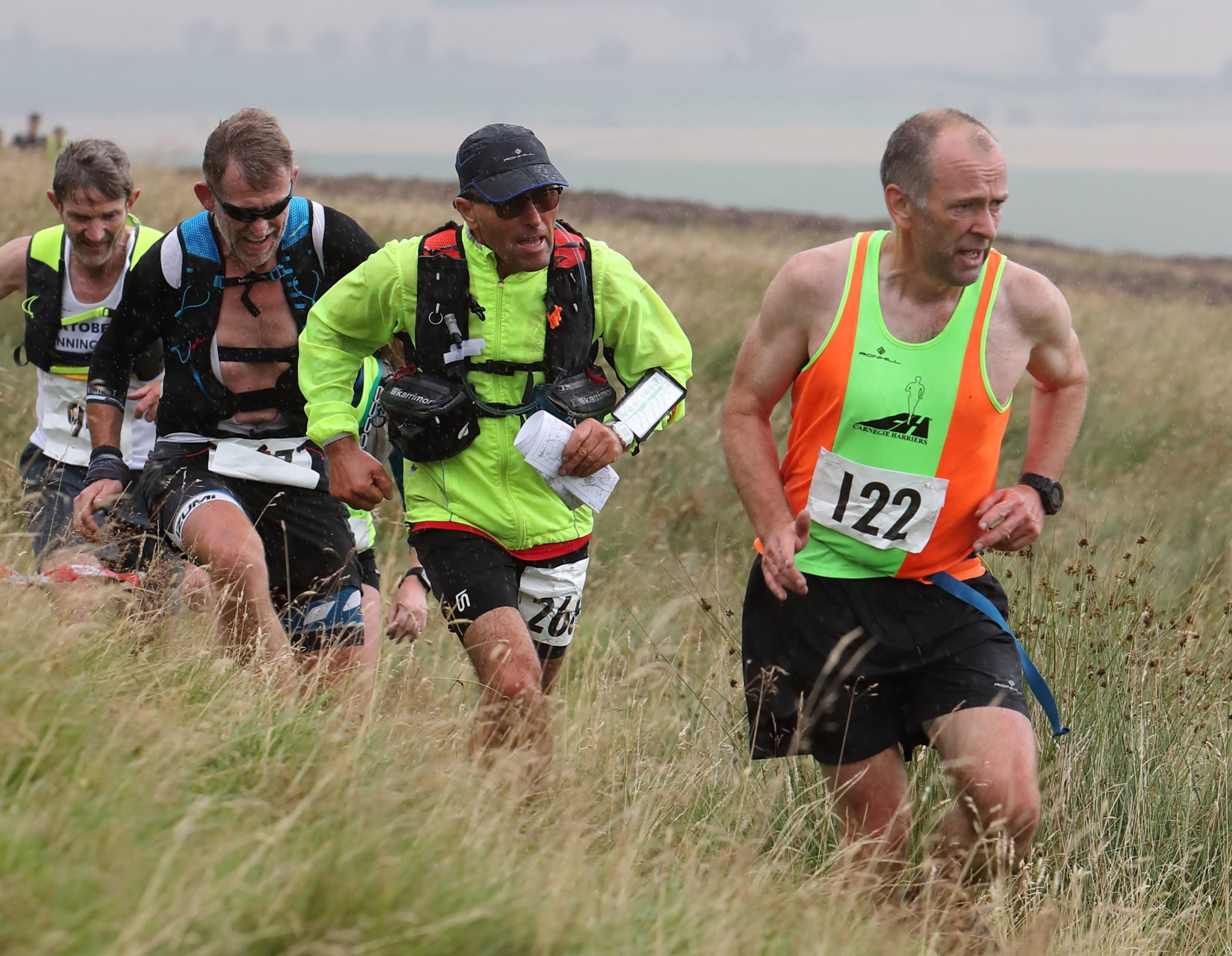 Harriers tackle Lomonds of Fife Hill race