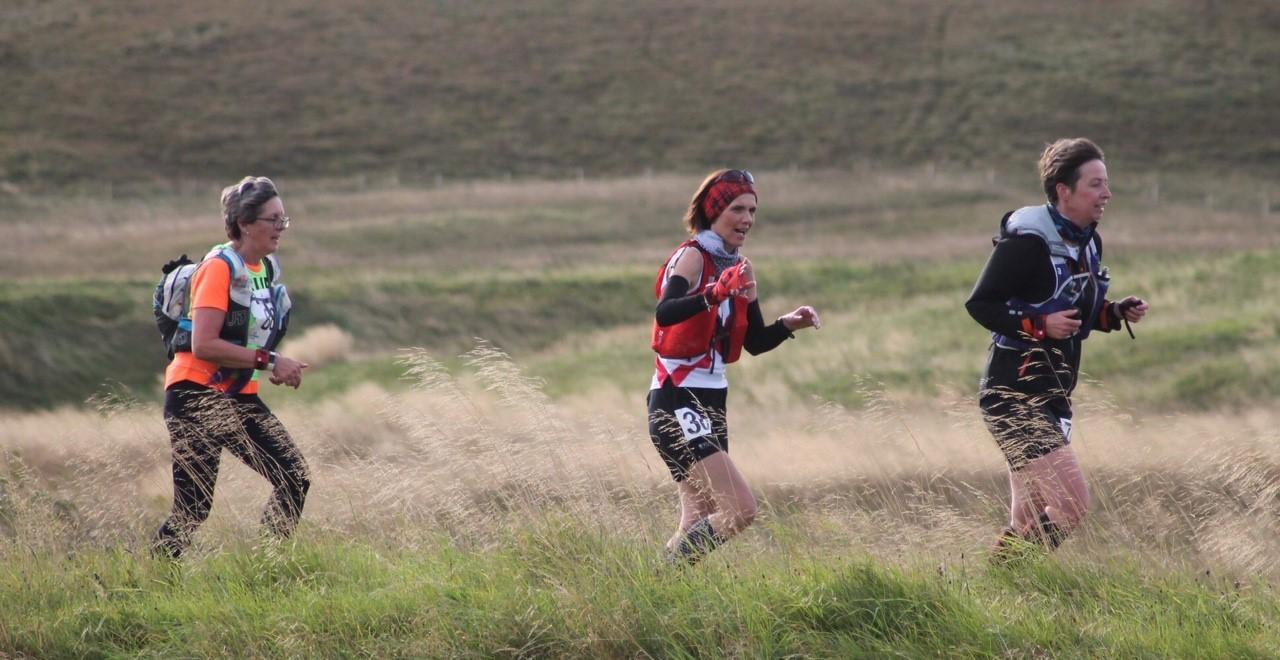 Sue Running on Ayr