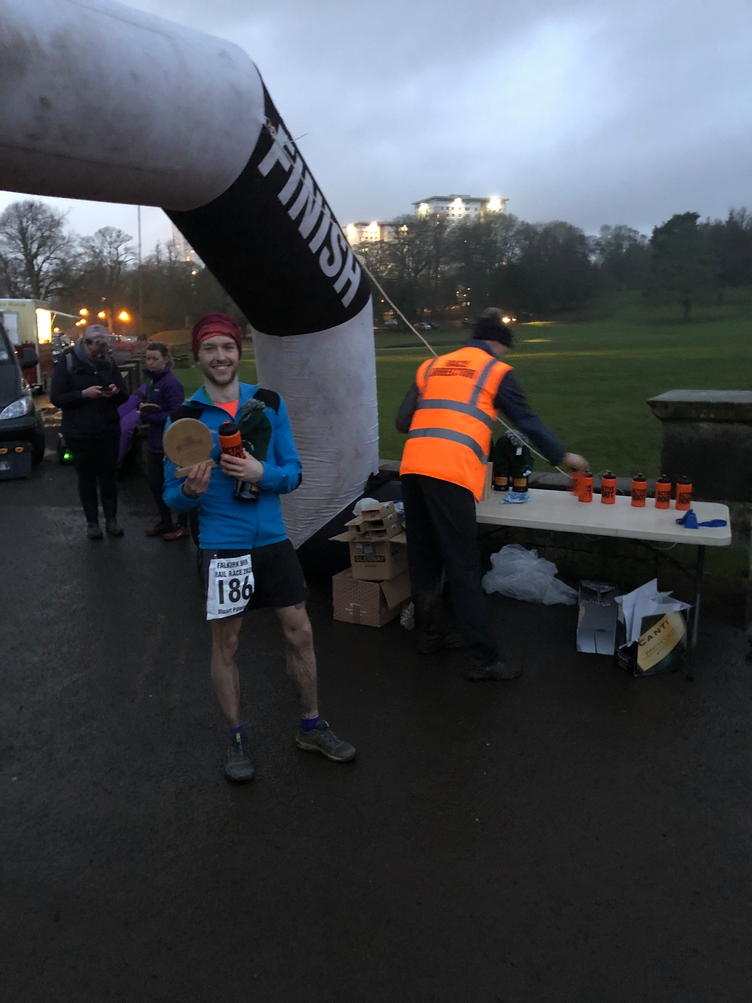 Harriers Tackle Wet and Muddy 8 Hour Ultra