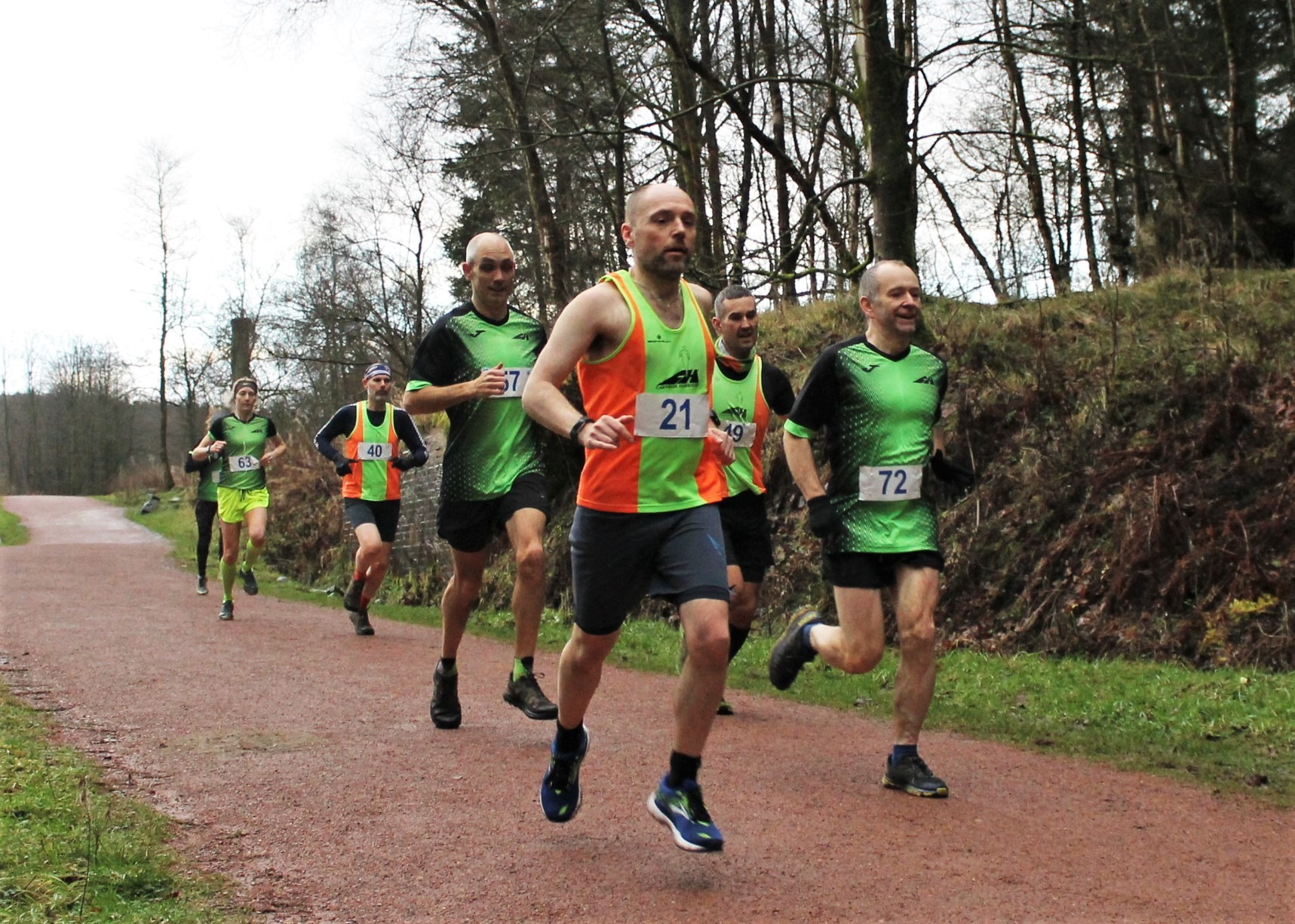 Carnegie Harriers Festive Forest Race, Virtual Prize Giving and Christmas Party Night (In) 2020